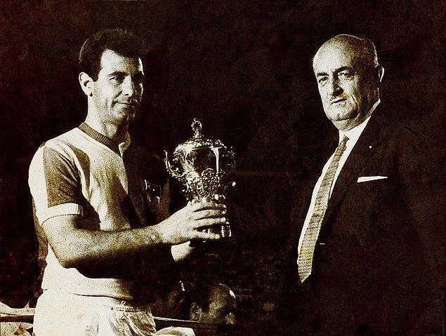 5. Metin Oktay, 6 kez ile en fazla gol kralı olan futbolcu ünvanını elinde bulunduruyor ve lig tarihinde 217 gollük bir rekora imza attı.