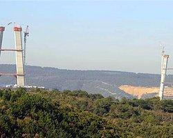 Başbakan Davutoğlu 3. Köprü İnşaatında