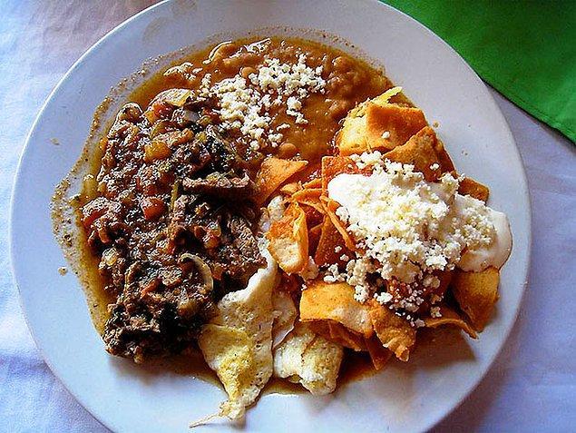 13. Meksika kahvaltısı