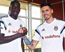 Beşiktaş'ta Demba Ba ve Sosa Sevinci