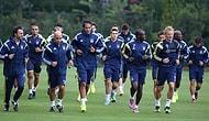 Fenerbahçe'de Eksik Antrenman
