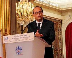 Hollande: 'IŞİD'e Karadan Müdahalede Yok'