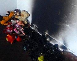 PKK Öğrencilerin Oyuncaklarını Toplayıp Yaktı