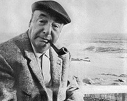 """Asıl adı """"Ricardo Eliezer Neftalí Reyes Basoalto"""" olan Şilili yazar ve şair."""
