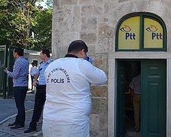 Beyoğlu'nda Silahlı PTT Soygunu