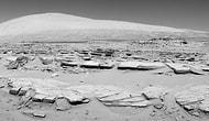 Curiosity Sharp Dağı'nda İlk Sondajı Yaptı