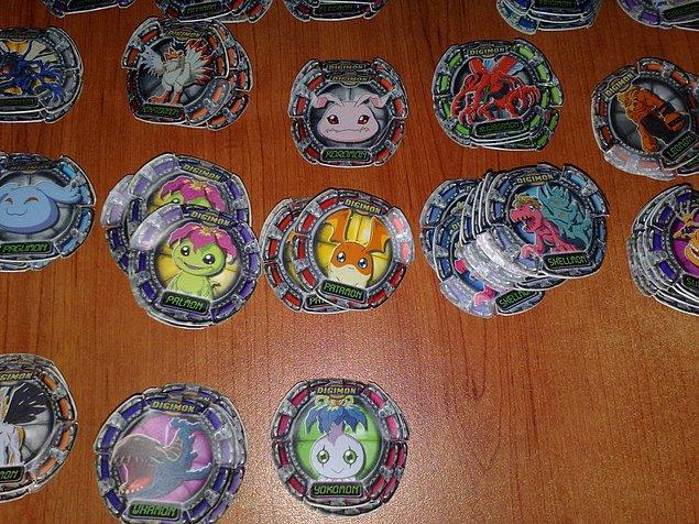 Digimon tasoları..