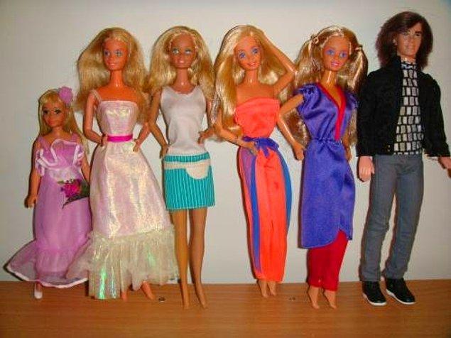 Barbie bebekleri..