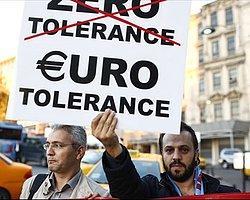 Trabzonspor Taraftarı UEFA'yı Protesto Etti