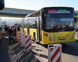 Boğaziçi Köprüsü'nde 'Metrobüs' Trafiği