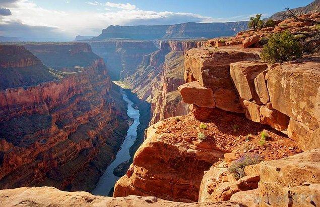 18. Rim-to-Rim Grand Canyon, Arizona, Amerika