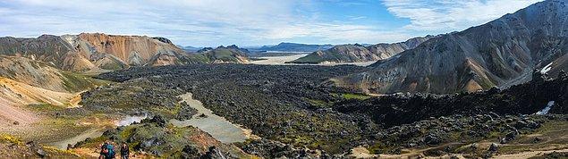 26. Laugavegurinn Trail, İzlanda