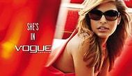 Vogue Gözlüklerinin Yeni Tanıtım Yüzü Eva Mendes
