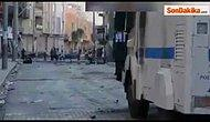 Göstericilere Müdahale Ederken 'Türkiyem' Şarkısı Çalan TOMA