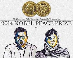 Nobel Barış Ödülü Kailash ve Malala'nın