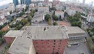 Kapatılan Polis Okulu Arazisinin Havadan Görüntülendi