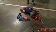 Vitaly Zdorovetskiy'in korkunç şakasından görüntüler..