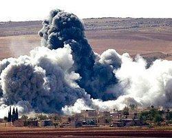 Işid Sınır Kapısına Havan Toplarıyla Saldırıyor