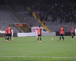 Ankaragücü ve Düzyurtspor Futbolcuları TFF'yi Tanımadı