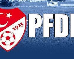 PFDK, Galatasaray'a Tribün Kapatma Cezası Verdi