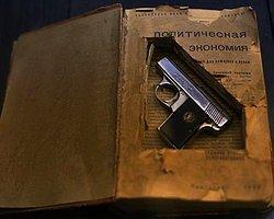 6,35 Suikast silahı ve kitap arası gizlemesi
