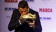 Ronaldo Altın Ayakkabısını Aldı