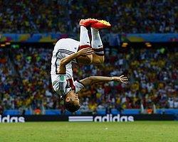 """FIFA'dan """"Taklalı"""" Gol Sevincine Yasak Sinyali"""