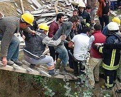 Devlet Hastanesi İnşaatında İskele Çöktü, 3 İşçi Yaralandı