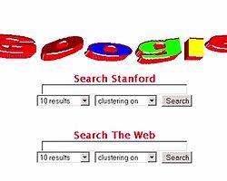 1. Google'ın Temel Felsefesi Oluşturuldu ve İlk Adımlar Atıldı (1998)