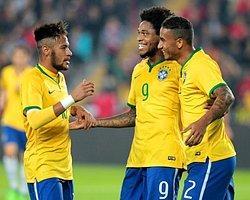 Milliler Hazırlık Maçında Brezilya'dan Fark Yedi