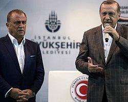 Cumhurbaşkanı Fatih Terim'e Sahip Çıktı