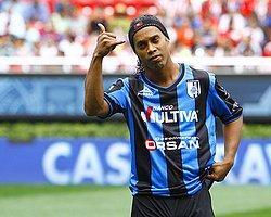 Ronaldinho, Meksika'dan Sıkıldı