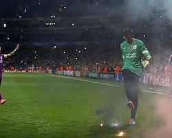 Londra Polisi, Arsenal-Galatasaray Maçında Meşale Yakan 9 Kişiyi Arıyor