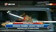 Volkan Demirel ve Emre Belözoğlu Stattan Çıkarken Ortalık Karıştı!