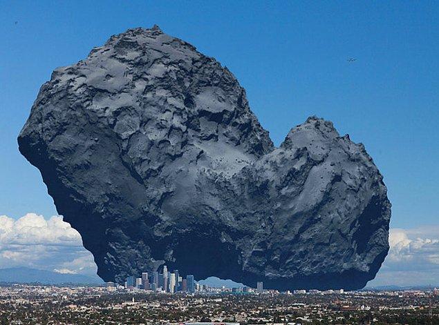 8. Bu Rosetta Kuyruklu Yıldızı.