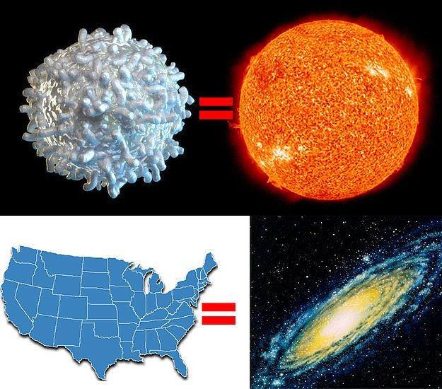 И все же, это практически ничего по сравнению с Галактикой.