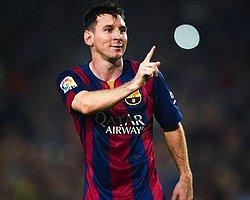 Messi Şampiyonlar Ligi Gol Rekorunu Kırdı