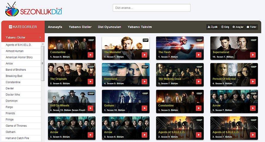 En İyi 6 Yabancı Dizi Sitesi - onedio com