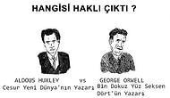 İnsanlık Neden Mutsuz Oldu? Orwell ve Huxley'in Bakış Açılarının 6 Maddede Karşılaştırılması