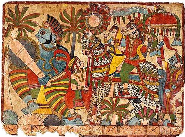 10. Mahabharata'da  Vimanalar (Uçan Araçlar)