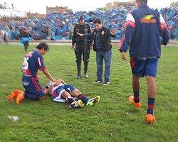 Peru'da Sahaya Yıldırım Düştü!