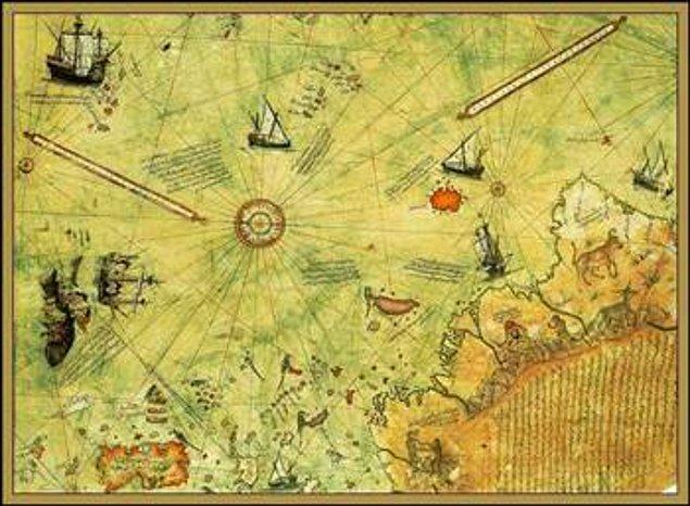 14. Piri Reisin Geleceği Gören Haritası