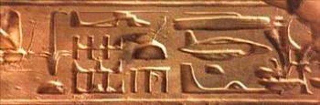 19. Mısır Hiyerogliflerindeki Gizemli Şekiller