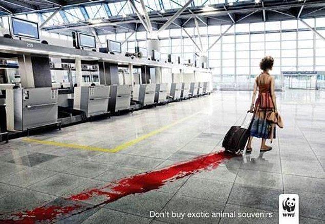 1. WWF'nin (World Wide Fund for Nature) Dünya Doğayı Koruma Aşırı Anlamlı Reklamı