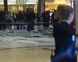 Diyarbakır'da Bir AVM'de Asma Tavan Çöktü: 3 Yaralı