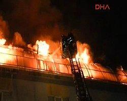 İkitelli OSB'de Korkutan Yangın