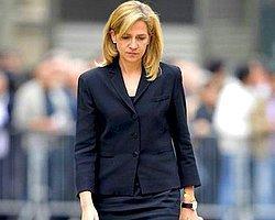 İspanya Prensesi Cristina'nın Unvanı Geri İstendi