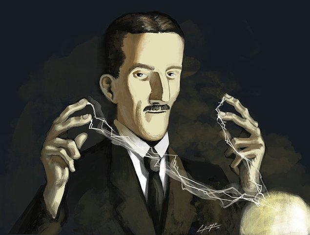 2. Radyoyu Marconi icat etti sanılır, X ışınlarını Röntgen'in keşfettiği, vakum tüp amplifikatörünü de Forest'in. Ayrıca Floresan lambayı, neon ışıklarını, hızölçeri, otomobillerdeki ateşleme sistemini, radarın temellerini, elektron mikroskobunu ve mikrodalga fırını da Nikola Tesla'nın icat ettiğini bilen sayısı sınırlıdır.