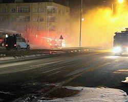 Silopi'de PKK Yandaşları Polisle Çatıştı: 2 Yaralı
