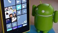 Android Uygulamaları WP'da Çalışabilir
